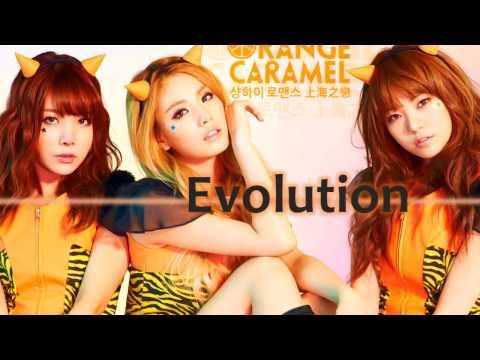 The Evolution of Orange Caramel [2010-2014] (видео)