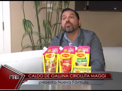 Caldo de Gallina Criollita Maggi Presenta nueva fórmula