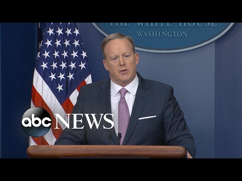 Sean Spicer: 'Our Intention Is Never to Lie' (видео)