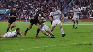 Jaguares v Crusaders Rd.8 2018 Super rugby video highlights