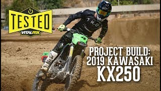 7. Project Build: 2019 Kawasaki KX250