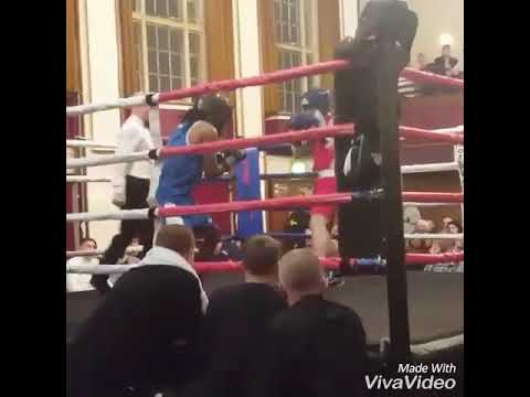 Andre Hall boxing highlights in bury