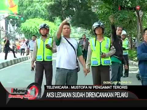 [EKSKLUSIF] Detik-detik Penyergapan Pelaku Bom Sarinah - iNews Breaking News 14/01