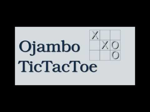 Video of Ojambo Tic Tac Toe Game