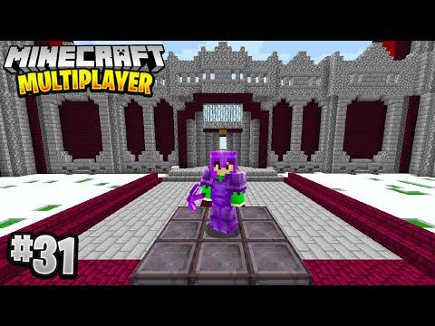 THE NETHERITE CASTLE in Minecraft Multiplayer Survival! (Episode 31)