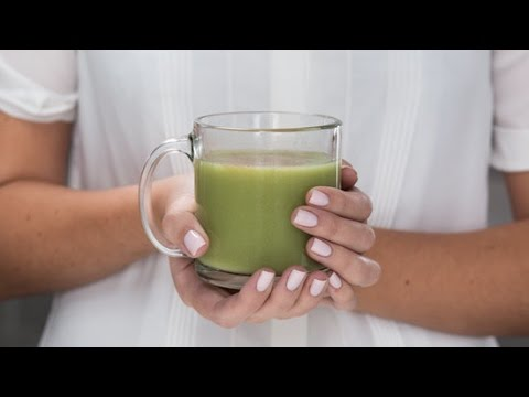 Skip the $5 coffee run...How about a Matcha Latte!!!!