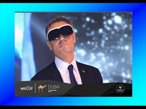 World Global Network Lumina Glasses Debut Dubai, w/ World Space Computer, First Wearable Computer!