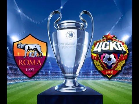 champions league: roma - cska mosca 5-1, tutti i gol