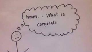 Corporate Finance (hand-drawn explanation)