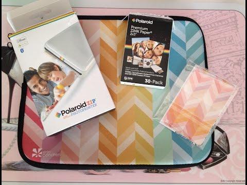 Polaroid Zip Photoprinter - review ITALIANO
