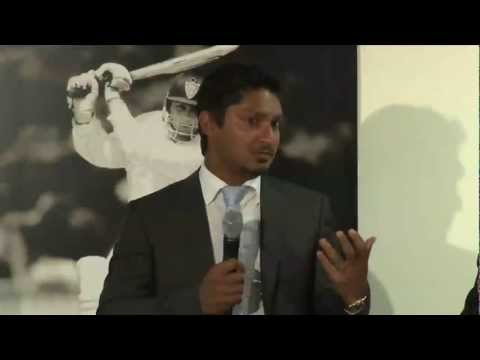 Kumar Sangakkara at the LBW Trust Annual Dinner 2013