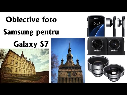 Obiective foto (lentile) Samsung pentru Galaxy S7P