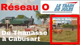 letraindejules.fr - Vidéo N°36 - Réseau O de Thanasse à Cabusart.