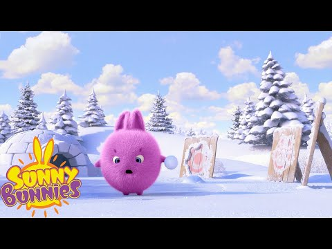 SUNNY BUNNIES - Snowballing | Season 4 | Cartoons for Children