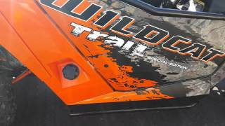 7. 2016 Arctic cat/wild cat trail special edition