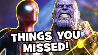 AVENGERS INFINITY WAR Trailer Easter Eggs, Infinity Stones & Things You Missed