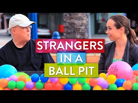 Ball - SoulPancake hits the streets to see what happens when two strangers sit in a ball pit... and talk about life's big questions. Subscribe to our youtube channe...