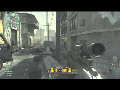mw3 sniper gameplay - Could we get 3000 likes on this video?! That would make my day :) My Twitter: https://twitter.com/#!/xJawz.