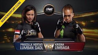 Video [FULL FIGHT] Priscilla Hertati Lumban Gaol VS Krisna Limbaga MP3, 3GP, MP4, WEBM, AVI, FLV November 2018