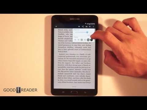 B&N Samsung Galaxy Tab A Nook Review
