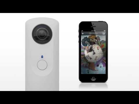 0 Ricoh Theta WIFI 360 Degree Camera