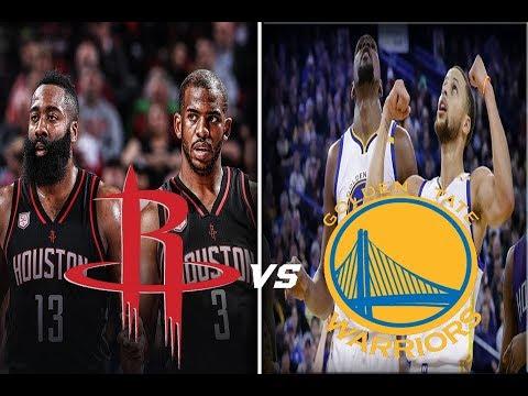 HOUSTON ROCKETS VS GOLDEN STATE WARRIORS - GAME 2 - NBA PLAYOFFS REACCIONES EN VIVO