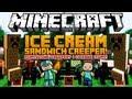 Minecraft 1.6.2 Mody - Ice Cream Sandwich Creeper Mod - Pomysłowe Creepery i Ciekawe Itemy!