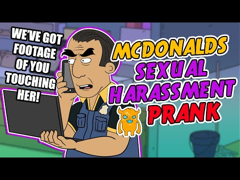 ownage pranks - This guy got fired from McDonalds for sexually harassing a 16 year old girl. I decided to call him up as Abdo from McDonalds HR to follow up about the incident, I don't think he's very happy...