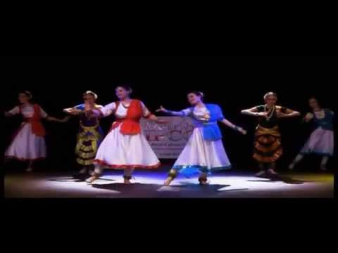 Mere Dholna Sun - Kathak and Bharatanatyam fusion