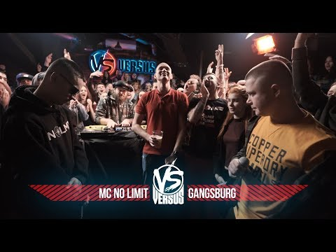 VERSUS BPM: MC No Limit VS Gangsburg (видео)