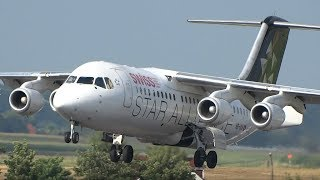On Monday the 14 August 2017, the last Avro RJ100 from Swiss performed his last commercial flight. As a reminder, I putted some...