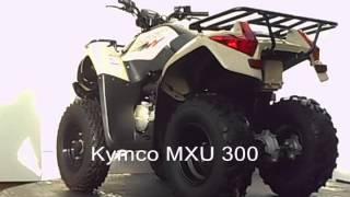 1. Kymco MXU 300 2007