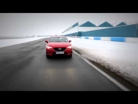 The all-new Mazda6 at Donington Park