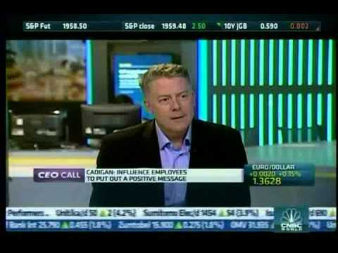 "Steve Cadigan CEO of Cadigan Talent Ventures on CNBC Squawkbox Europe: ""War for Talent"""