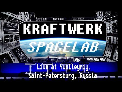 Kraftwerk - Spacelab (Live at Yubileyniy, Saint-Petersburg, Russia)