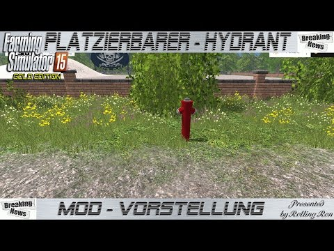 Hydrant with water trigger v1.0.1