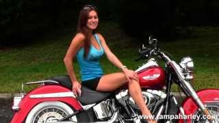 7. New 2013 Harley-Davidson FLSTN Softail Deluxe in Ember Red Sunglo for Sale