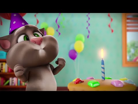 🎂 Super Birthday Cake! 🎂 Talking Tom Shorts Cartoon (Episode 44)