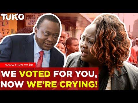 Breaking News Kenya: Angry Kenyan Sends Message to President Uhuru Kenyatta   Tuko TV