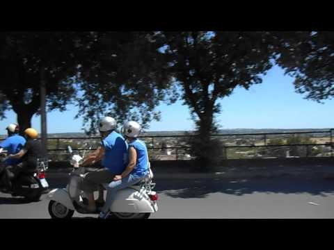 Raduno Vespa Club Martina Franca - Giro Turistico con affaccio sulla Valle D'Itria