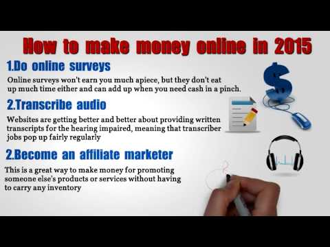 How to make money online in 2015 without an investment