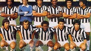 vitória do santos contra a ponte no morumbi com um golaço de Aílton Lira.no paulistão 1978