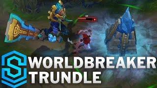 Chi tiết hình ảnh bộ trang phục mới Worldbreaker Trundle