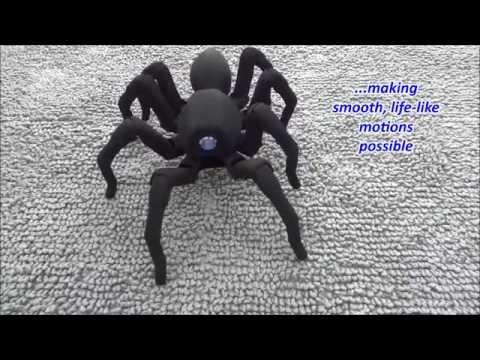 T8狼蛛機器人,竟然是用3D打印出來的!