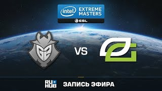 G2 vs OpTic - IEM Oakland 2017 - de_overpass [ceh9, Anishared]