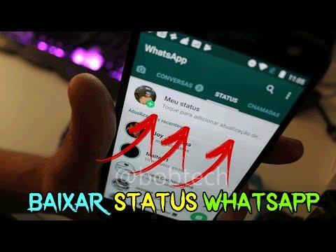 Baixar whatsapp - 2 FORMAS SIMPLES de BAIXAR STATUS DO WHATSAPP DOS SEUS AMIGOS!