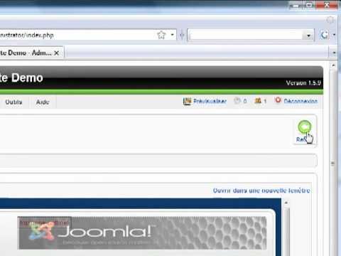 comment modifier header joomla