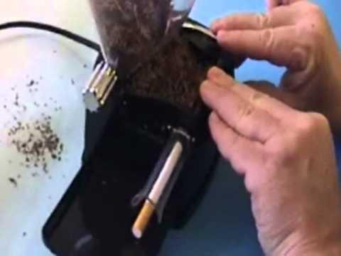 Elektromos Cigarettatöltő gép - cigitöltő,MACCHINETTA ELETTRICA RIEMPITUBI.