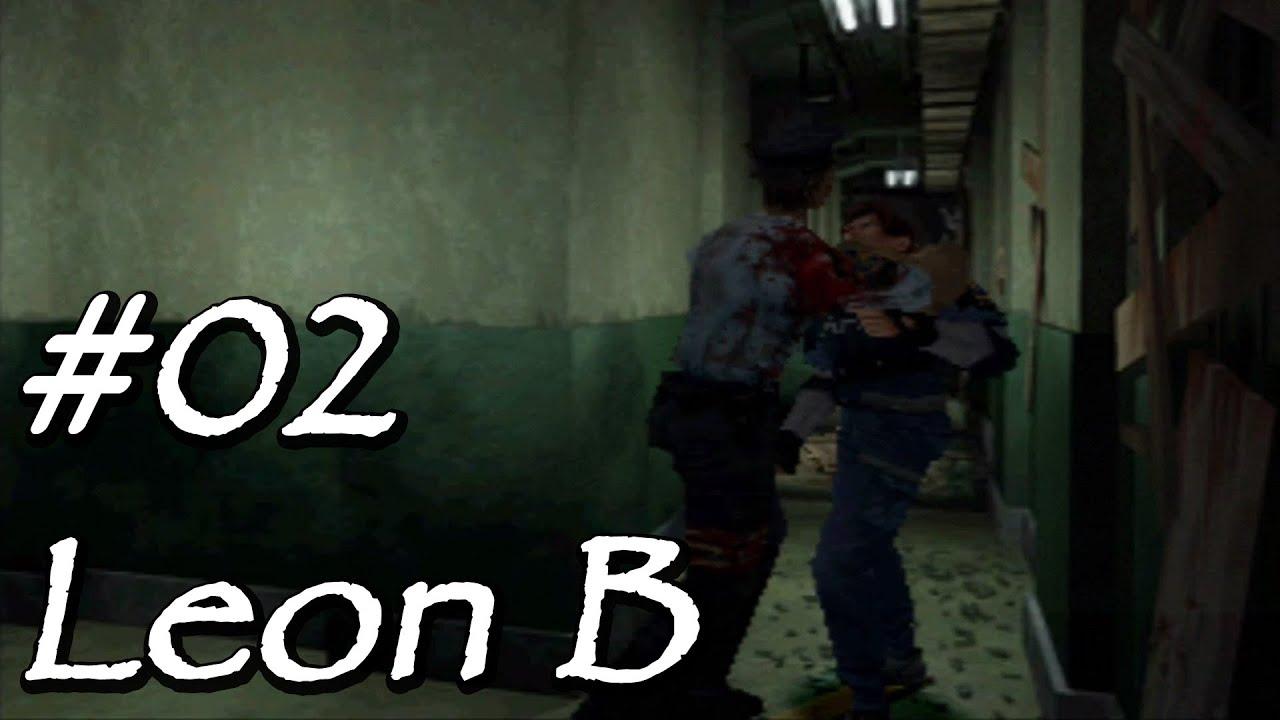 [Let's Play] Resident Evil 2 (Leon B) – 02 – Ab in den Keller