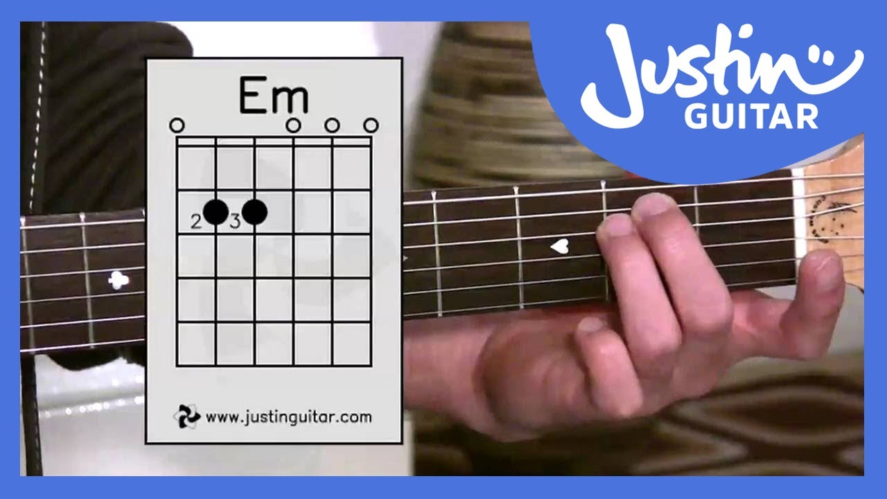 E Minor Chord (Em) – Stage 2 Guitar Lesson – Guitar For Beginners [BC-122]
